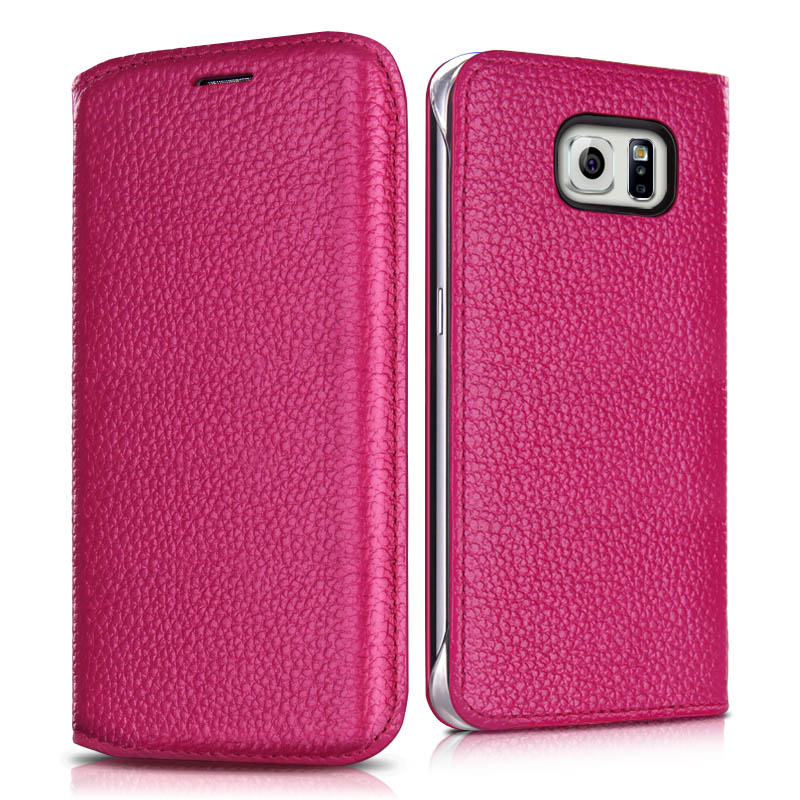 Samsung s6edge G9250 galaxys6edge SMG9250 protective sleeve leather holster phone shell mobile phone shell curved screen