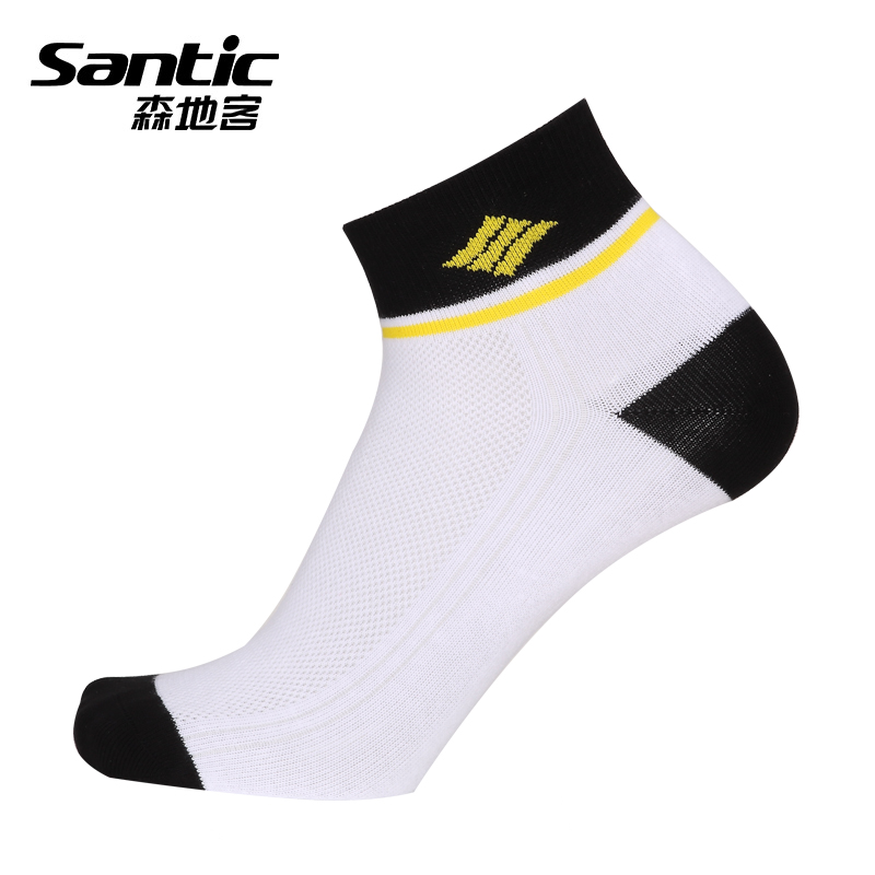 Santic sen to passengers riding socks sports socks antibacterial wicking socks cycling socks breathable and comfortable outdoor