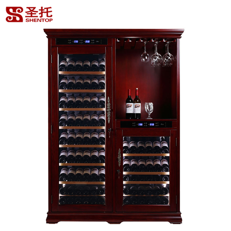 Santo a450 made of solid wood wine cooler temperature wine cooler compressor wine cooler wine cooler wine cooler wine cooler temperature wine cooler cabinet