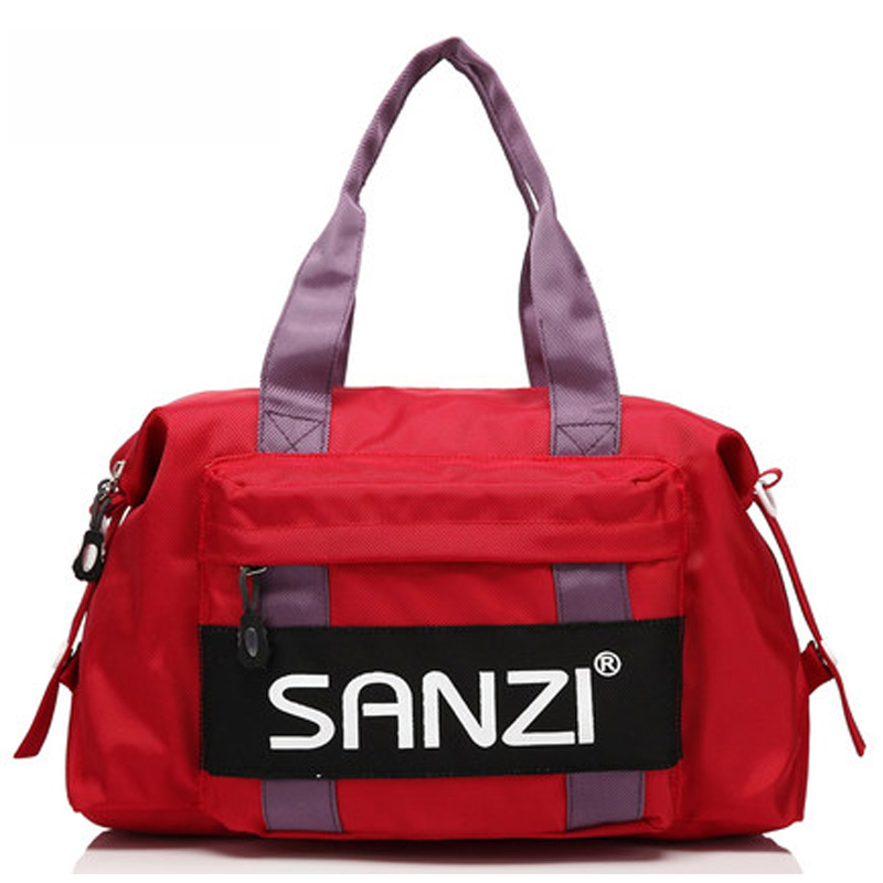 Sanzi three word new college wind canvas messenger bag shoulder bag men and women students tide bag diagonal dual