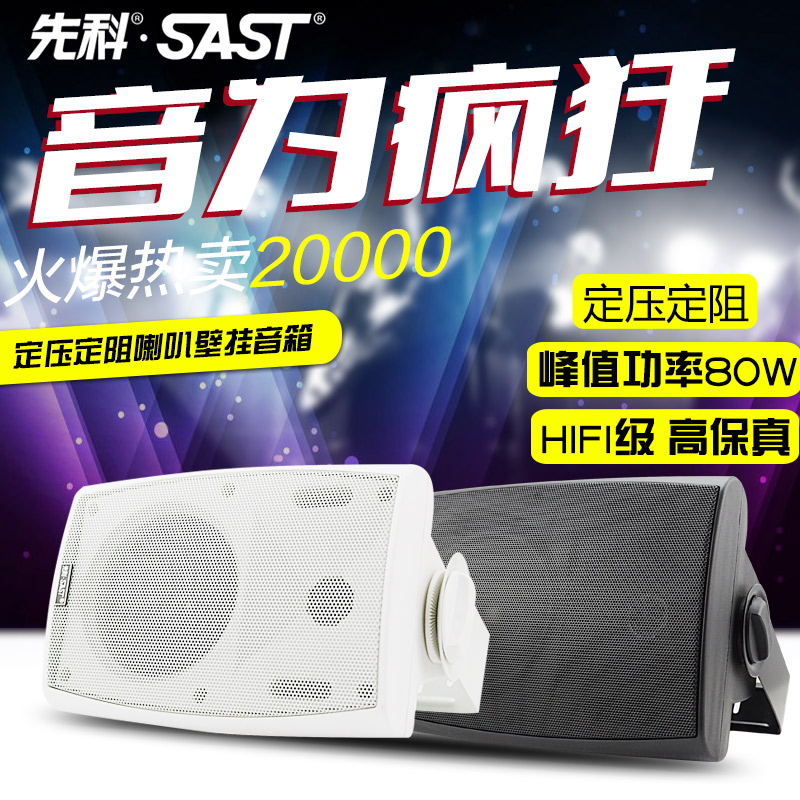 Sast/yushchenko SA-551 speaker public broadcasting wall speaker constant pressure of public broadcasting sound teaching conference