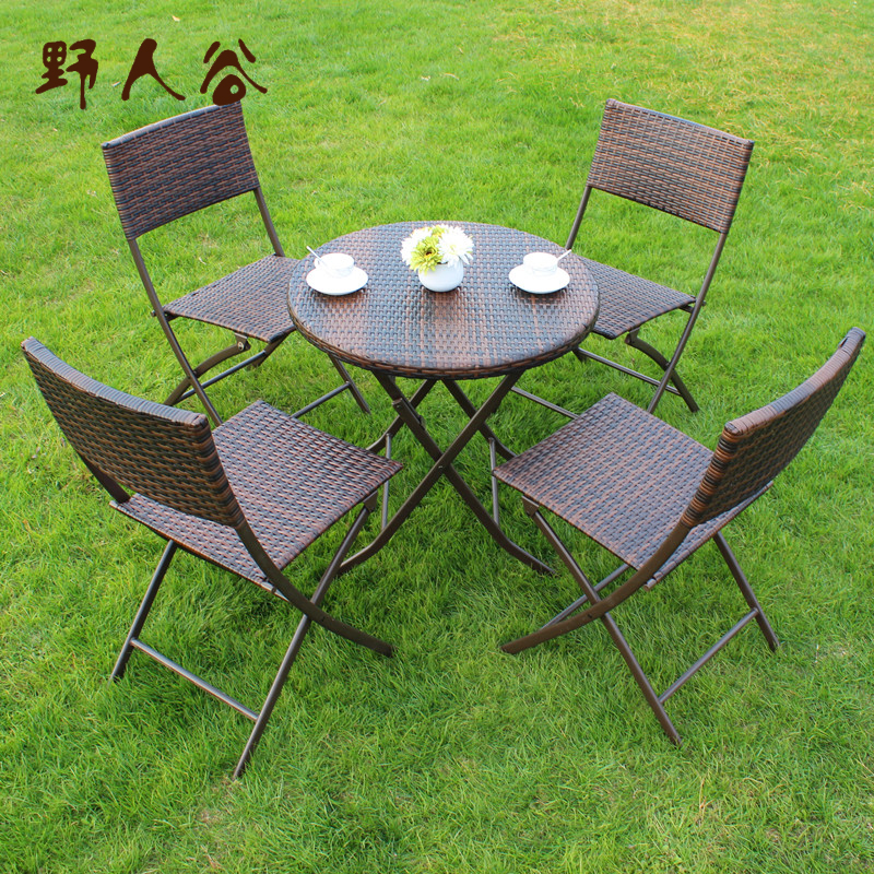 Savage valley outdoor leisure furniture patio chairs folding tables and chairs tables and chairs wicker chairs balcony chairs three sets