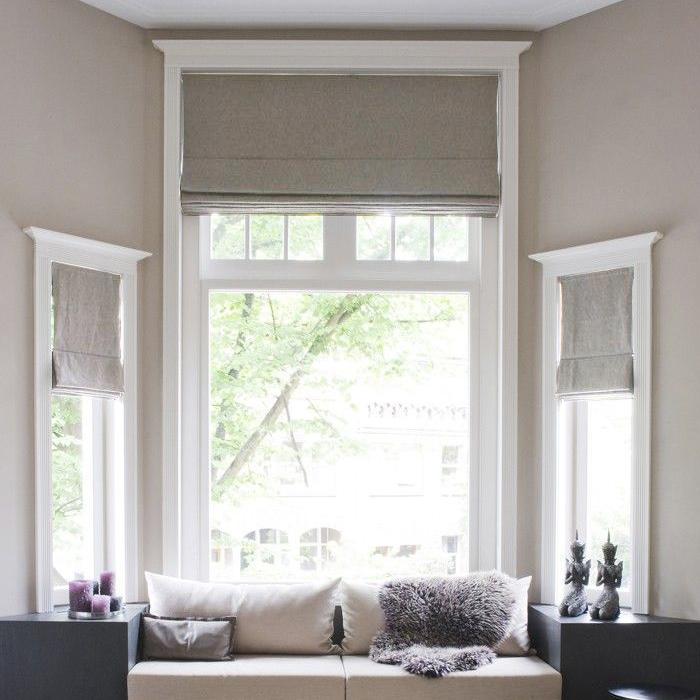 roman skogskl x ver ikea white photo blind roller width blinds of fabric