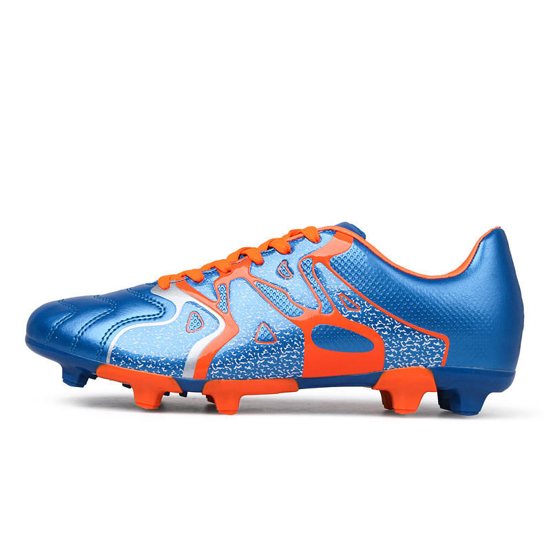 e5182fad2 Schoolchildren slip in children and adolescents ag artificial turf soccer  shoes spike balls plastic nail soccer shoes boys and girls summer