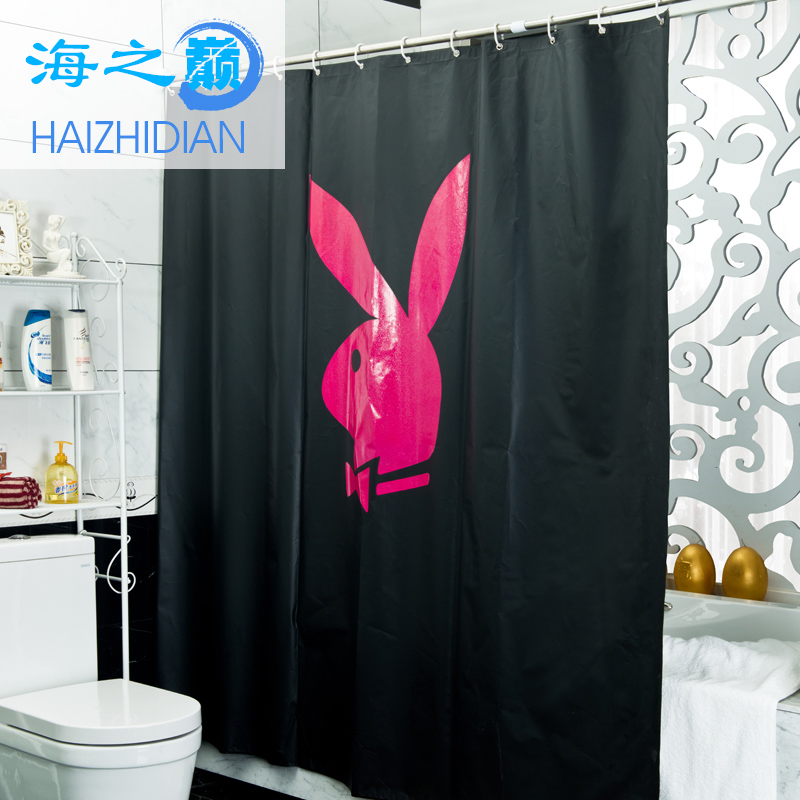 Sea summit peva waterproof shower curtain mildew bathroom shower curtain bathroom shower curtain partition curtain blackout curtains curtain hooks to send