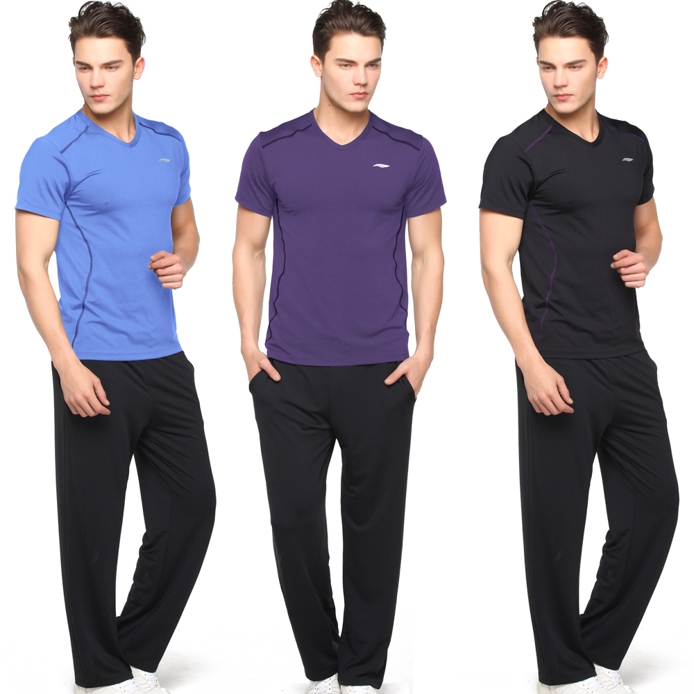 Send gifts road iraqi vatican workout clothes men slim straight jeans big yards suit sportswear gym instructor clothes specials