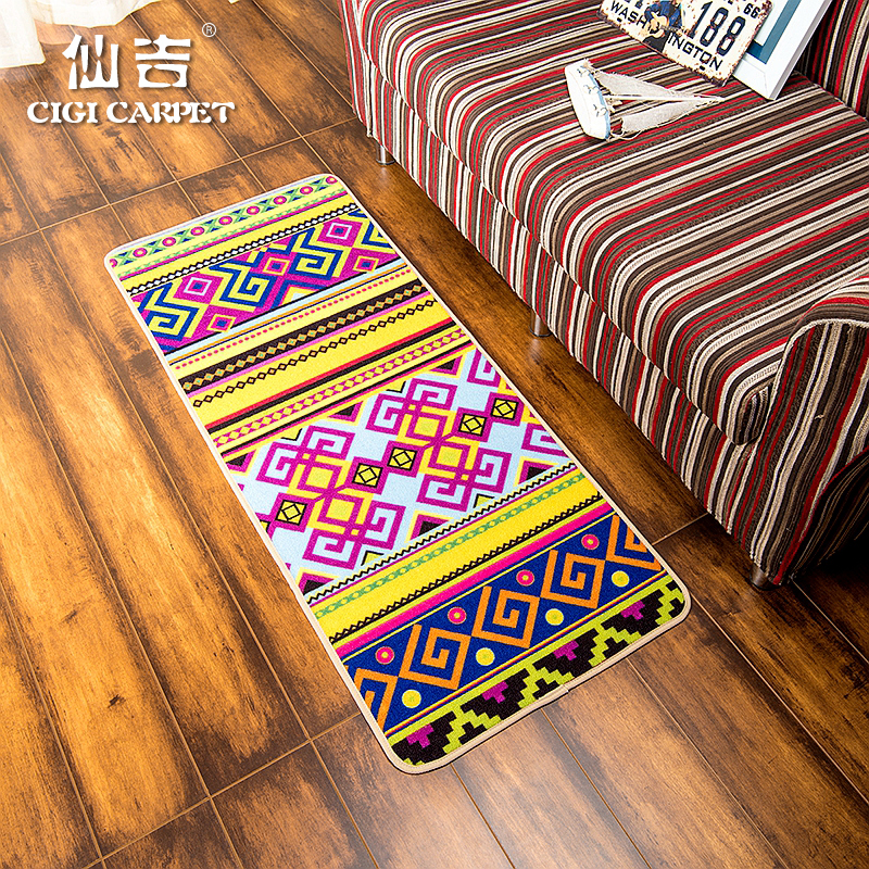 Senkichi modern european and american ethnic style fashion creative personality casual long thin mats bedroom living room windows and bed mats