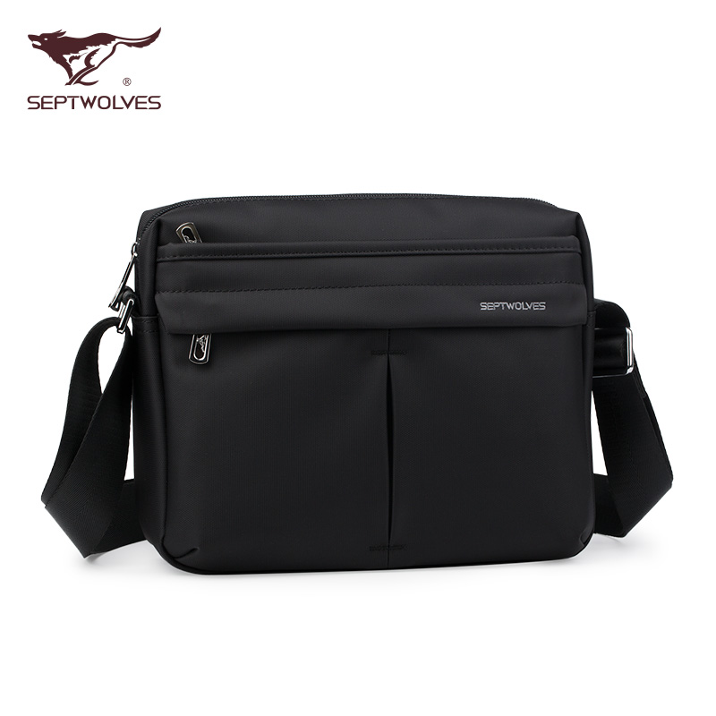 5edbc21082 Get Quotations · Seven wolves men s cross mens shoulder bag messenger bag  waterproof oxford cloth travel bag backpack bag