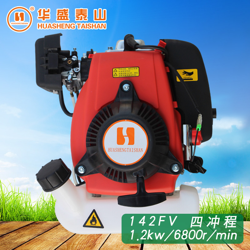 Shandong shing tai shan genuine original 142FV four stroke digging machine scooter 50cc gasoline engine power