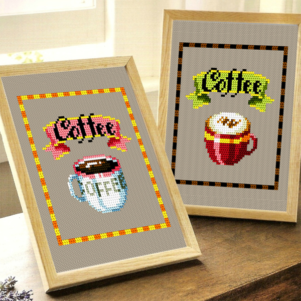 Shang century stitch dmc cross stitch new living room paintings of beautiful fresh bedroom living room coffee series magazine
