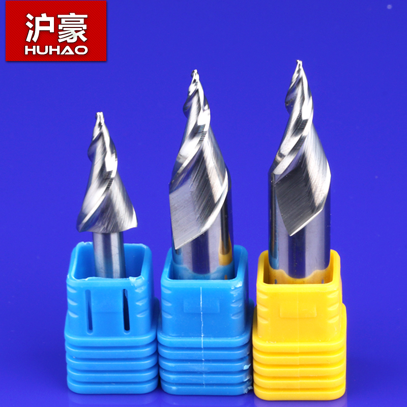 Shanghai hao brands imported mini light word word chisel computer advertising engraving machine tool cutter spiral taper