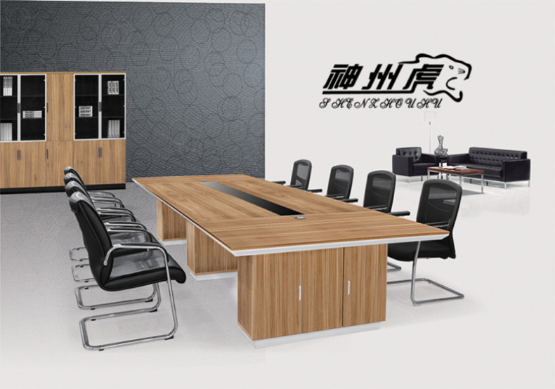 Shanghai office furniture bar table conference table minimalist modern office multiplayer desk training table conference table negotiating table