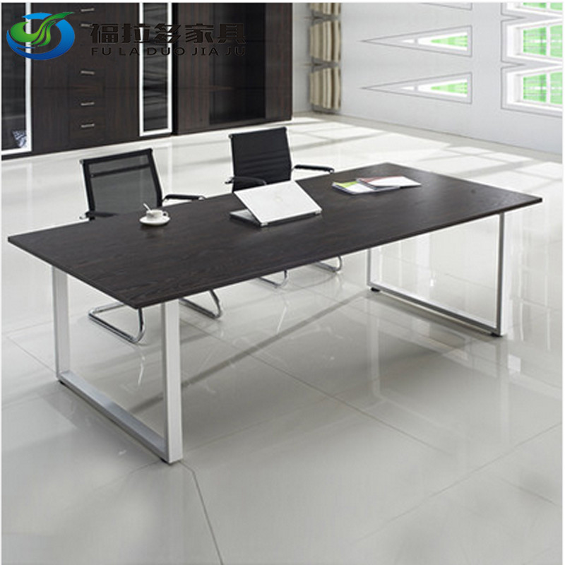 Shanghai office furniture conference table minimalist modern office furniture reception desk negotiation table training tables strip