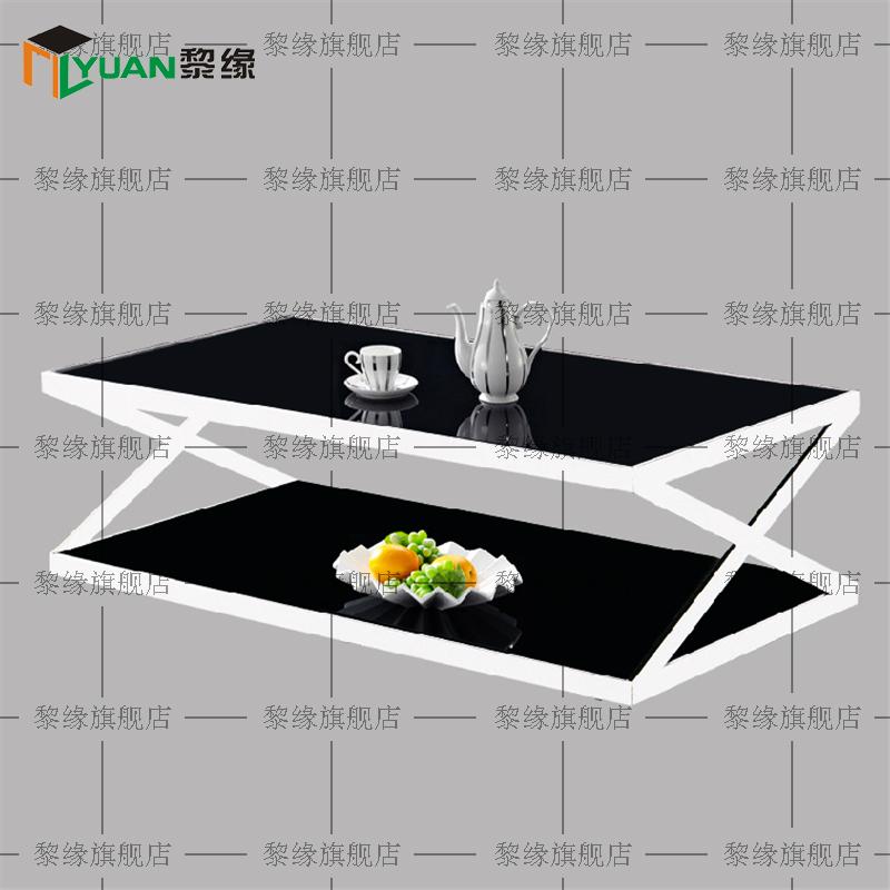 Get Ations Shanghai Office Furniture Minimalist Modern Coffee Table Glass Stylish Reception Steel Sofa