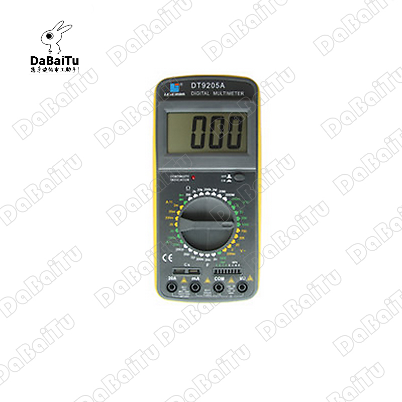 Shanghai sichuan instrument/leier da instrument digital multimeter RD9201 small current (leierda)