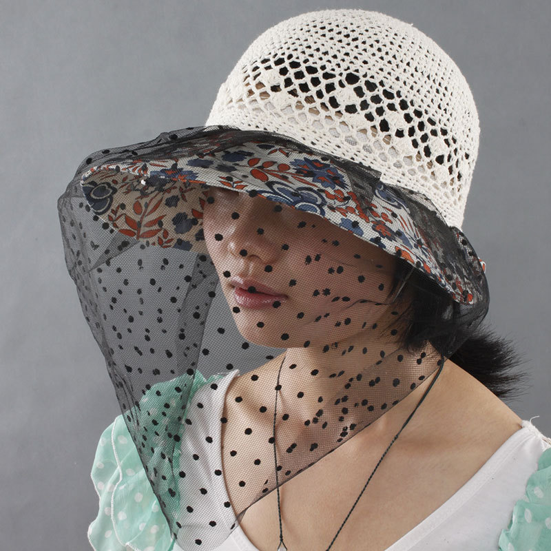 2caa626ca858c Get Quotations · Sheng and ethical summer hat lady hat fashion hat large  brimmed sun hat anti flies catkins