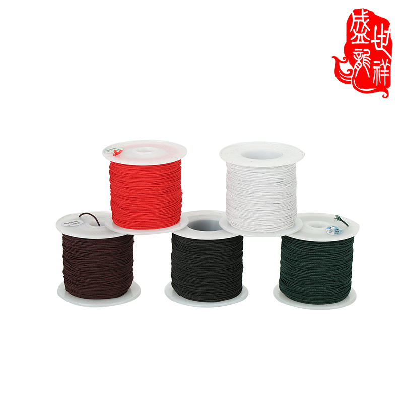 Shengshi xiang diy cloth wire beads elastic cord bracelet beaded wire rope wear beads elastic cord 6mm