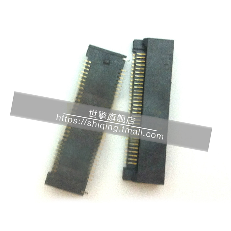 Shi qing RPCI-E 5.44mpa pcie socket 6mm high card slot 52pin h 52 p 4.0 connector