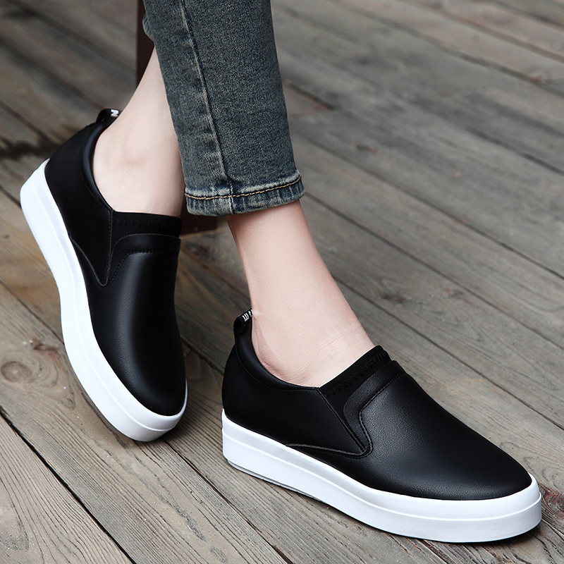 Shield fox 2016 spring shoes women shoes thick crust muffin flat shoes loafers shoes shoes korean version korean version of casual shoes children