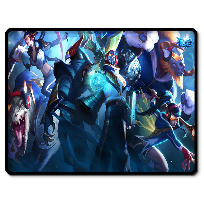 Shipping | league lol surrounding lockrand s5's season champion skt skin quality mouse pad
