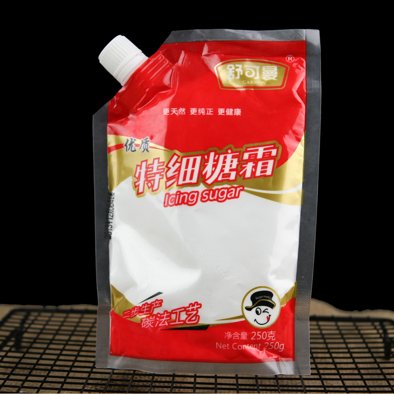 Shu man ultrafine powdered sugar icing sugar cream bread biscuits cookies baking cake decorating sugar 250g