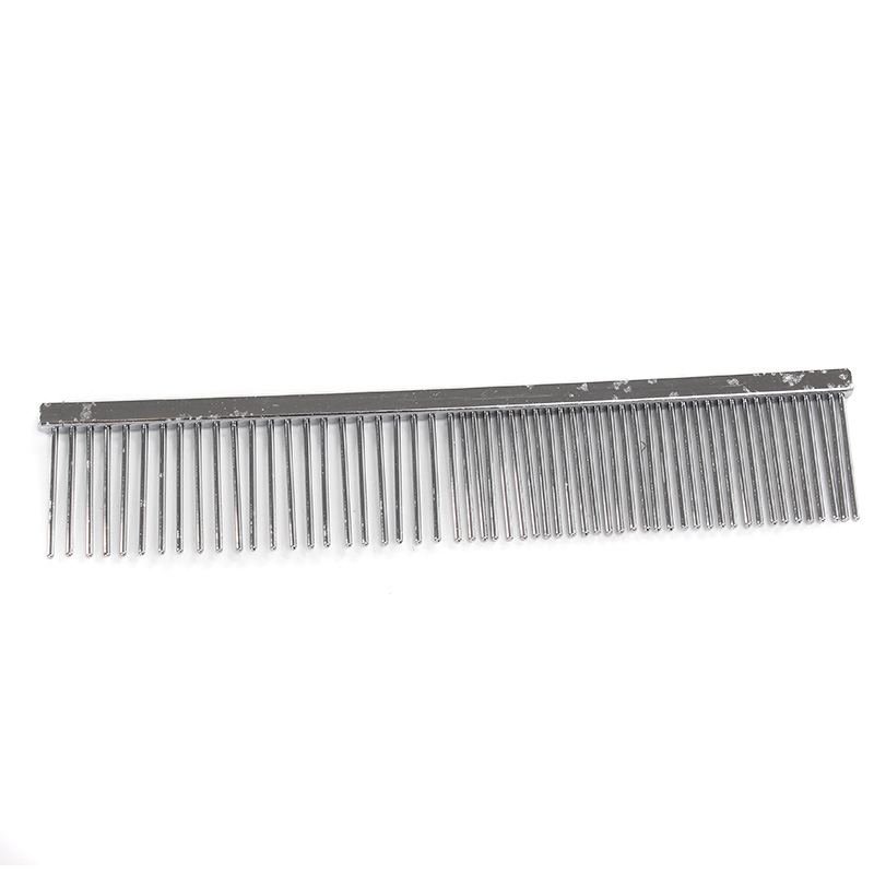 Shu paute pet dog comb comb comb straight row of comb special dog grooming cleaning supplies