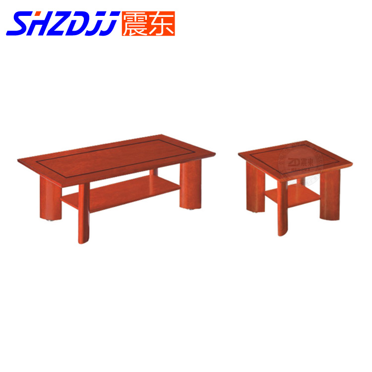 Shzdjj office coffee table wood coffee table minimalist modern business reception parlor room living room coffee table small coffee table furniture