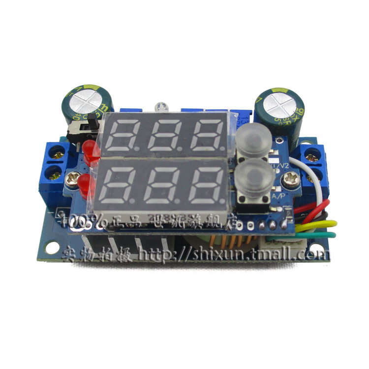 Significant number of constant voltage constant current buck module dc-dc 5a mppt solar controller battery