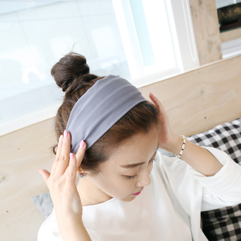 Simple temperament hair bands issuing headband korean broadside hairpin cloth does not clip the hair buckle female headdress hair accessories women