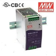 Single phase input meanwell pfc ultrathin slideways WDR-240-48 240 w 48v5a power [including tax]