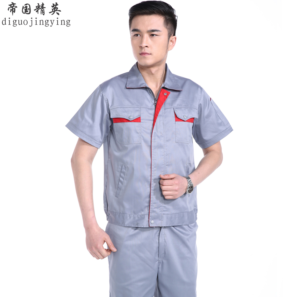 Sleeved overalls protective clothing work clothes factory service auto repair service electrician telecommunications service overalls repair service summer sleeve