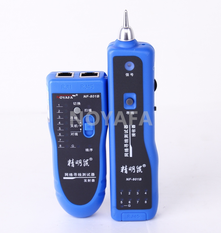 Smart mouse nf-801b hunt hunt instrument network cable tester cable tester telephone check line hunt instrument network cable connector