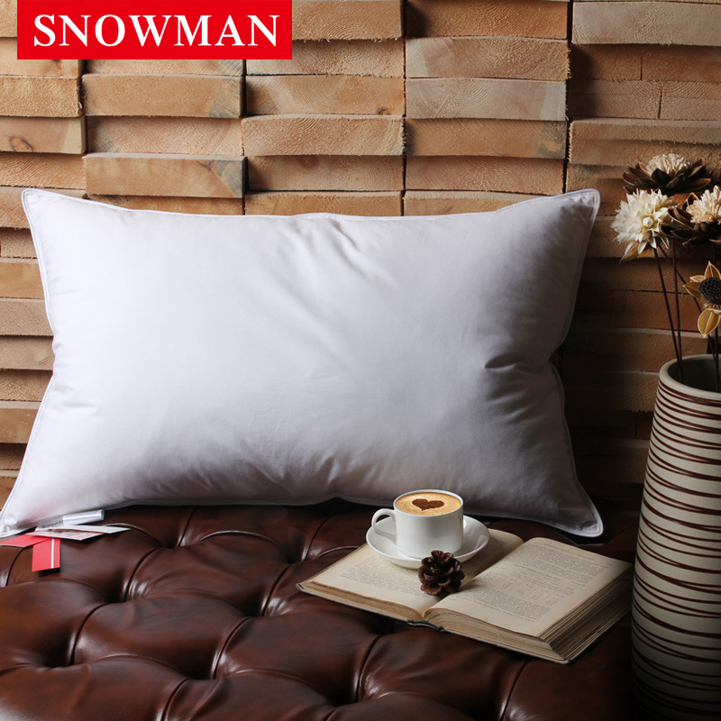 Snowman/adams norman hotel star hotels feather pillow goose down pillows pillow neck pillow core adult