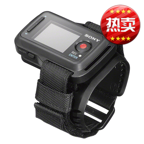 Sony hdr-as30v as20 as100v rm-lvr1 waterproof remote control wrist monitor in real time