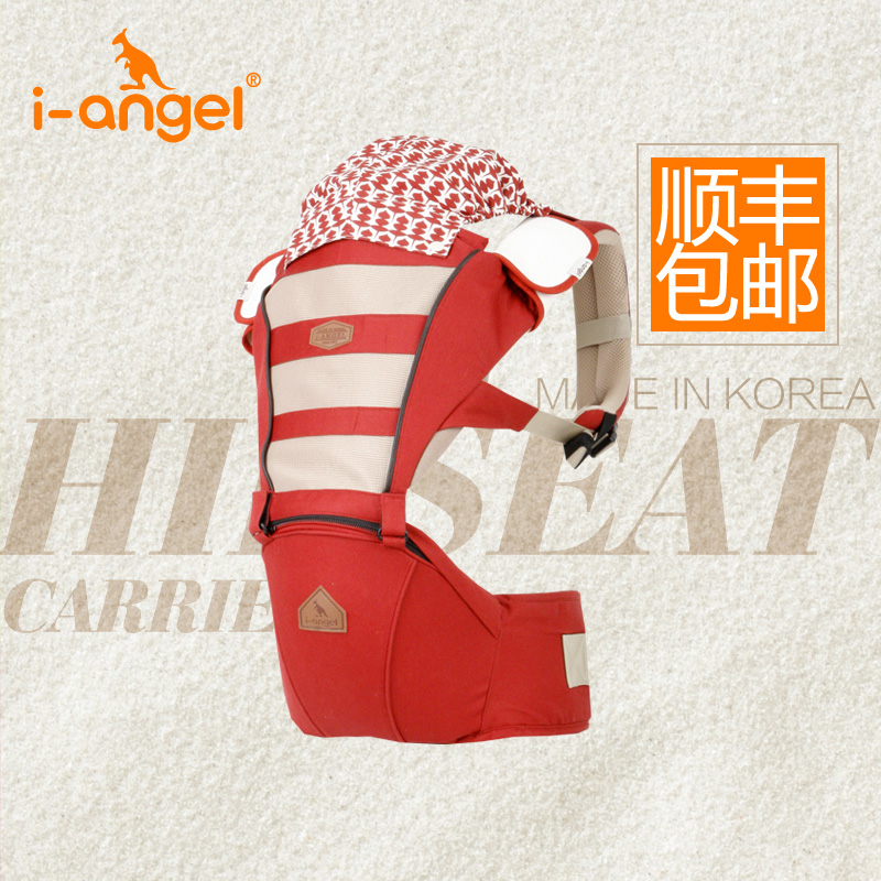 South korean imports of i-angel baby chair waist/straps hold infant/waist stool 4d mesh spring and summer/ 400 counterfeit