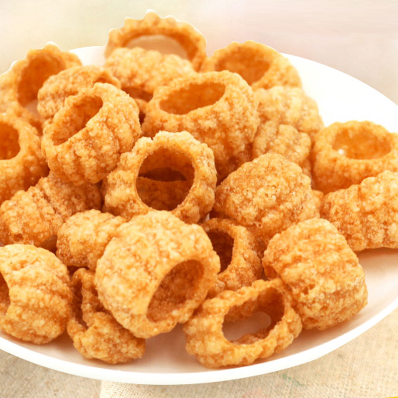 South korean imports of the rok-us wo honey donuts puffed snack food office leisure snack food goods 85g