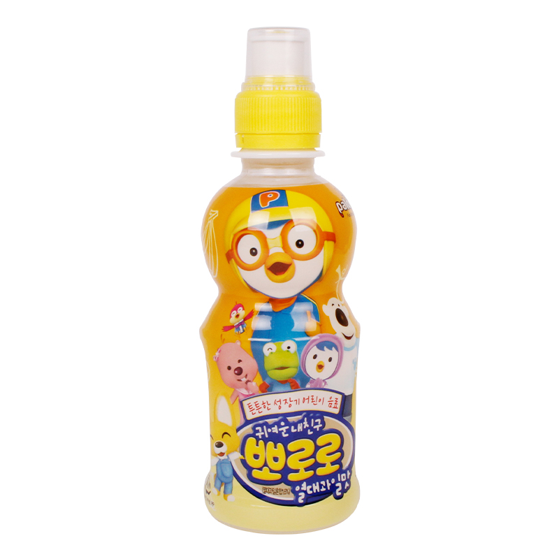 South korean imports of tropical fruit flavored drinks boo lele treasure lulu child drinks 215 ml