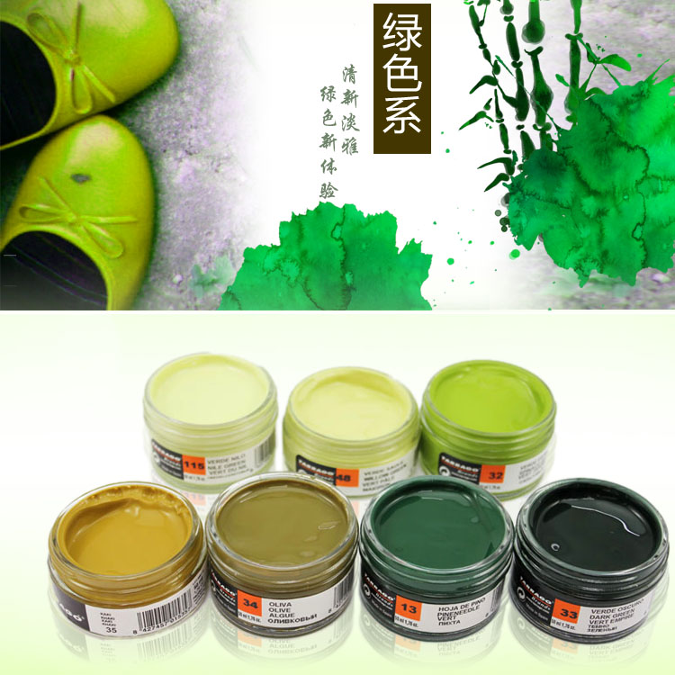 Spain tarrago shoe blue green light green dark green color shoe polish shoes green shoes envirogluvtm factice shipping
