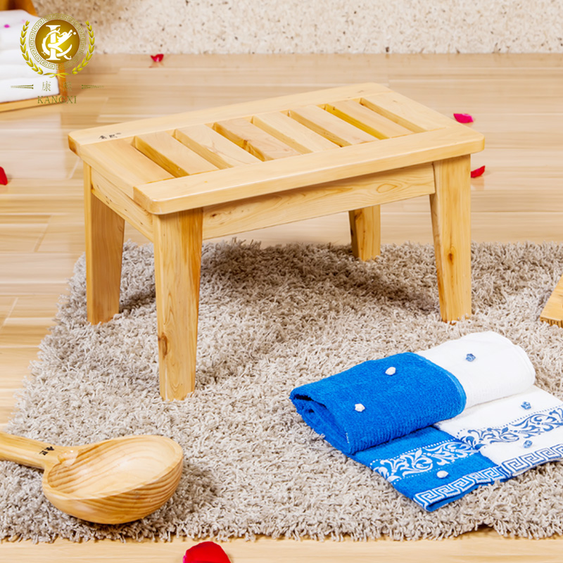 Special kangxi cedar wood stool wood stool ottoman foot stool changing his shoes fashion personality contadino
