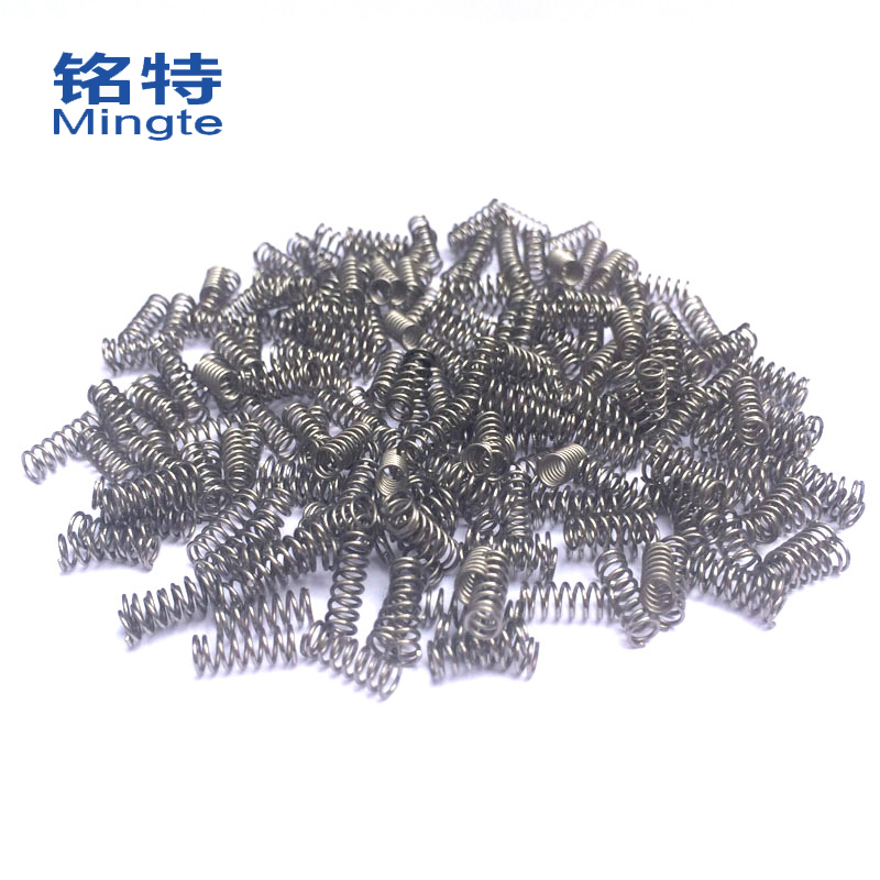 Special ming authentic 304 stainless steel compression spring spring spring spring lahuang non calibration done fast delivery