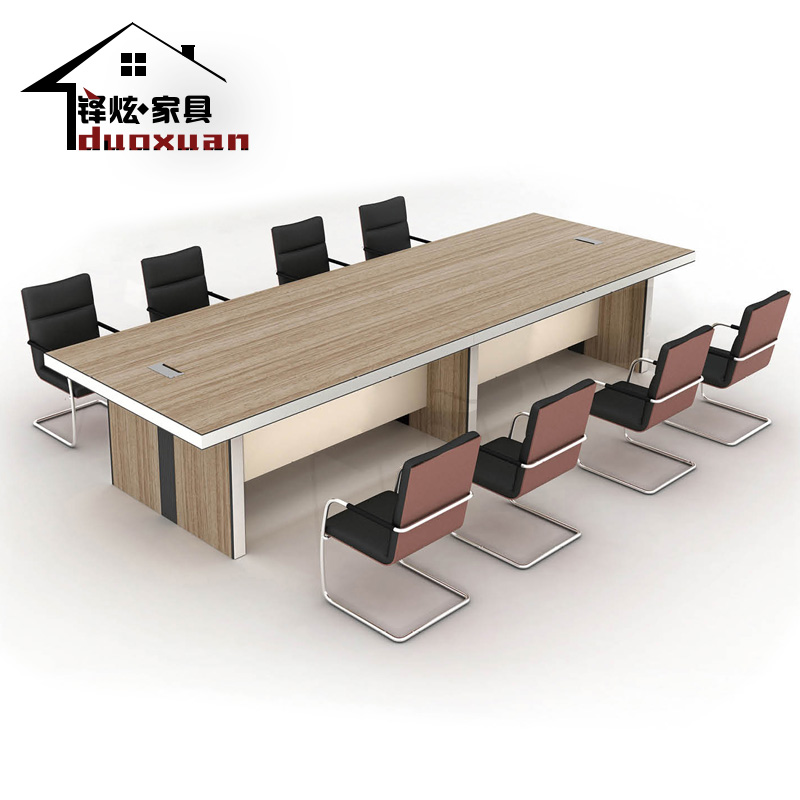 Special shanghai duo xuan office furniture minimalist modern office conference table conference table negotiating table plate customization