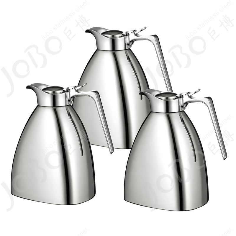 Special stainless steel cone triangle luxury insulation pot double vacuum insulation pot pot thermos thermos pot