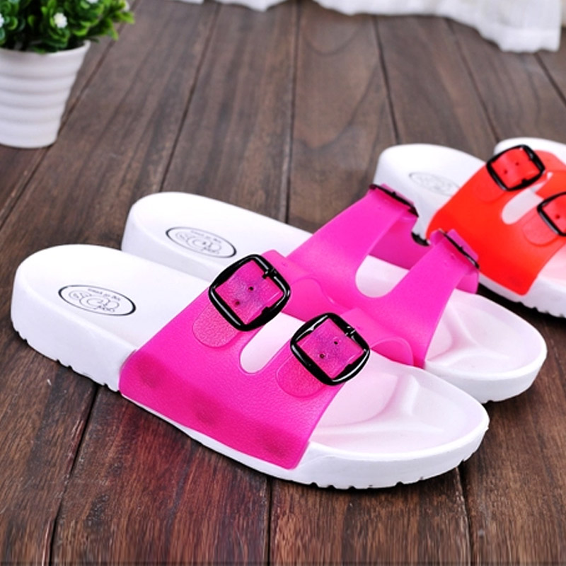 Special summer sandals and slippers bathroom slippers male summer home slippers couples slippers men and women dragged wide fat fat bias