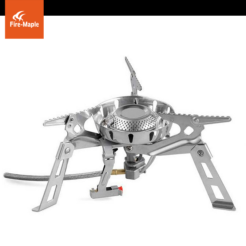 Specific rock fire maple outdoor camping picnic picnic stove portable cassette cookers gas stove gas stove gas stove split windproof outdoor goods