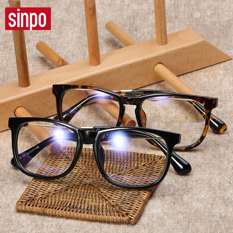 Spectacle frames influx of female korean retro glasses frame glasses myopia eye glasses frame radiation 63,1 full frame