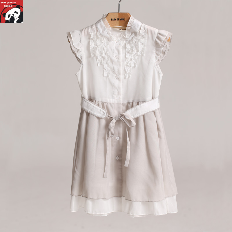 Spring and summer children's clothing [babe modern authentic] dress