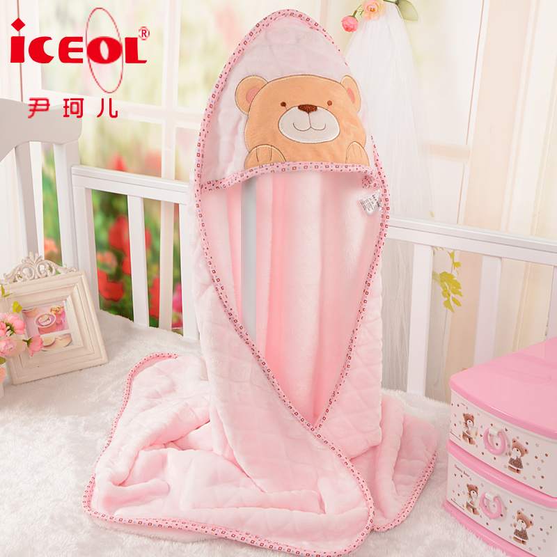 Spring newborn newborn baby was coated blankets quilted sleeping bag spring and summer thin section baby swaddle baojin