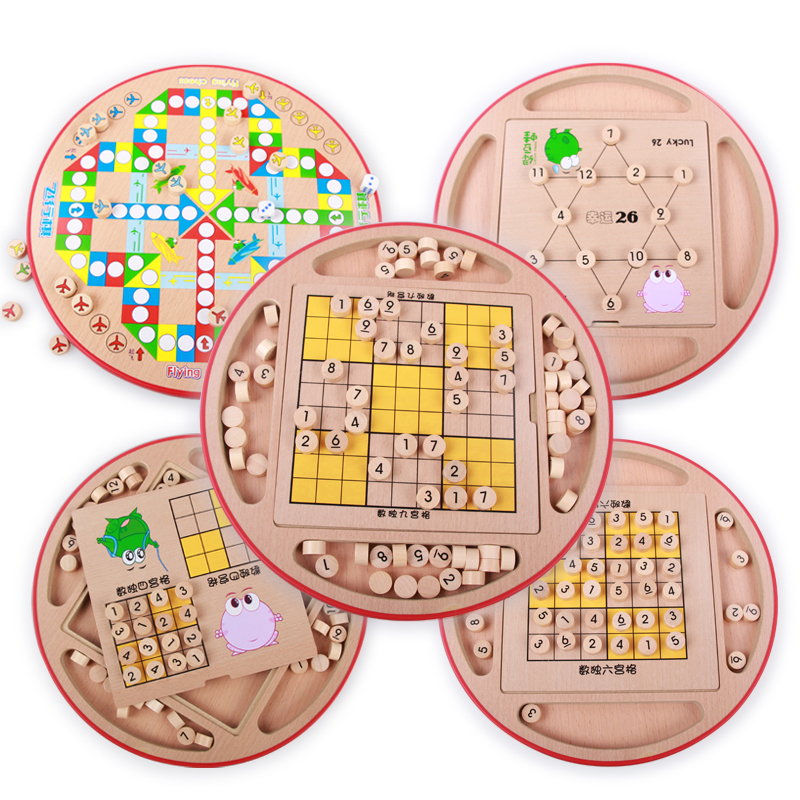Squared sudoku sudoku children observing flight chess wooden chess board game educational toys adult intelligence toys desktop