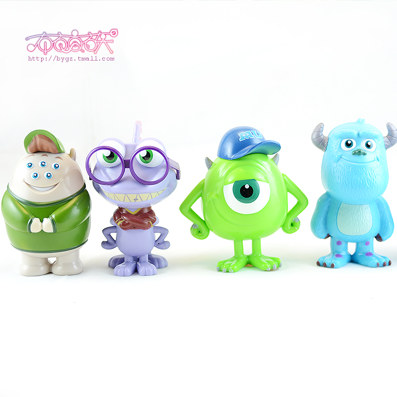Squishy popeyes strange hair monsters university dimensional ornaments mobile beauty paste drill diy jewelry accessories