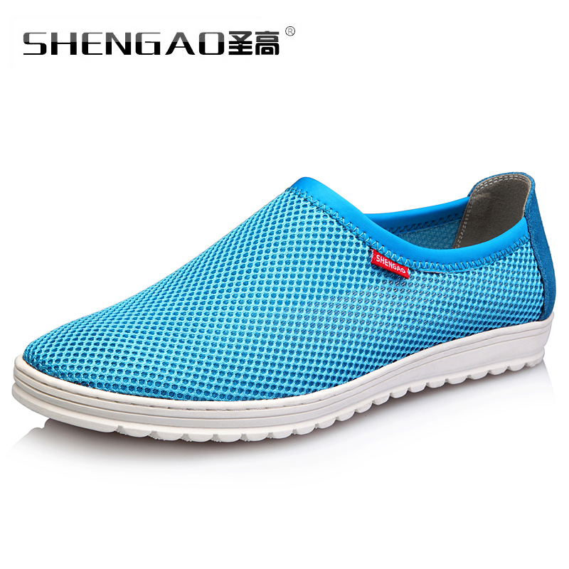St. genuine new summer men's summer mesh shoes men shoes lightweight mesh breathable mesh men's casual shoes